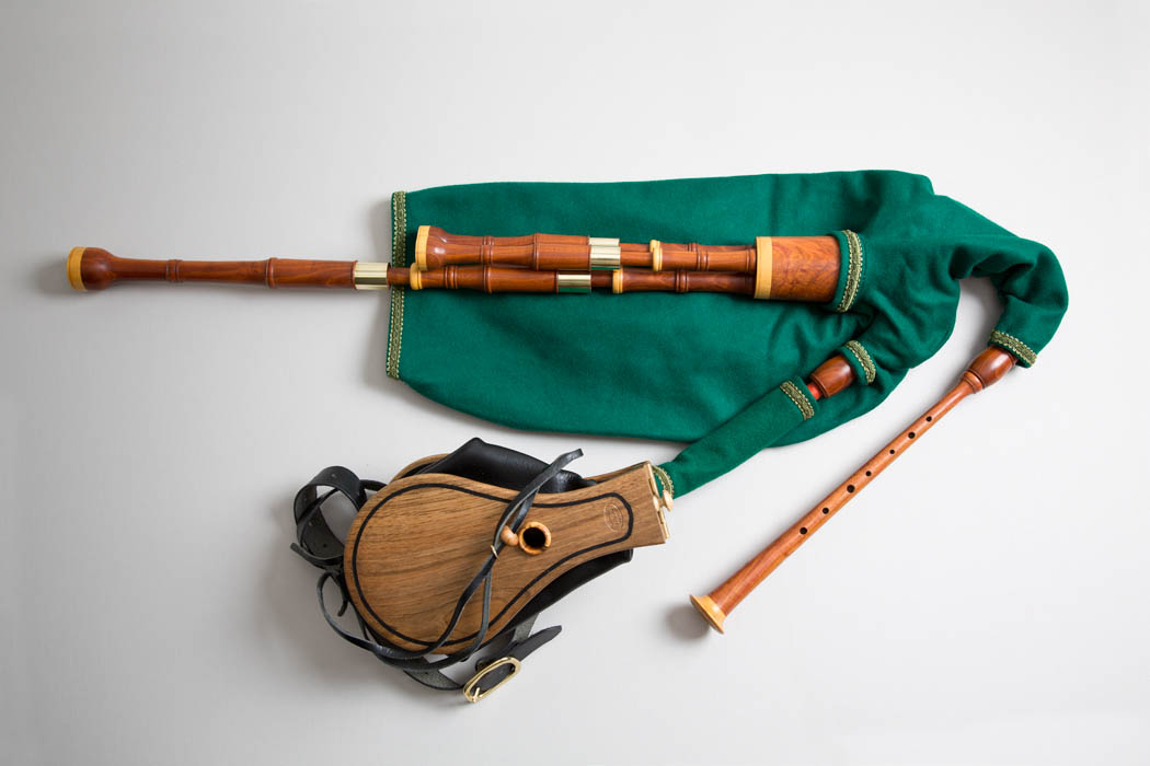 Image result for pipes on a set of bagpipes